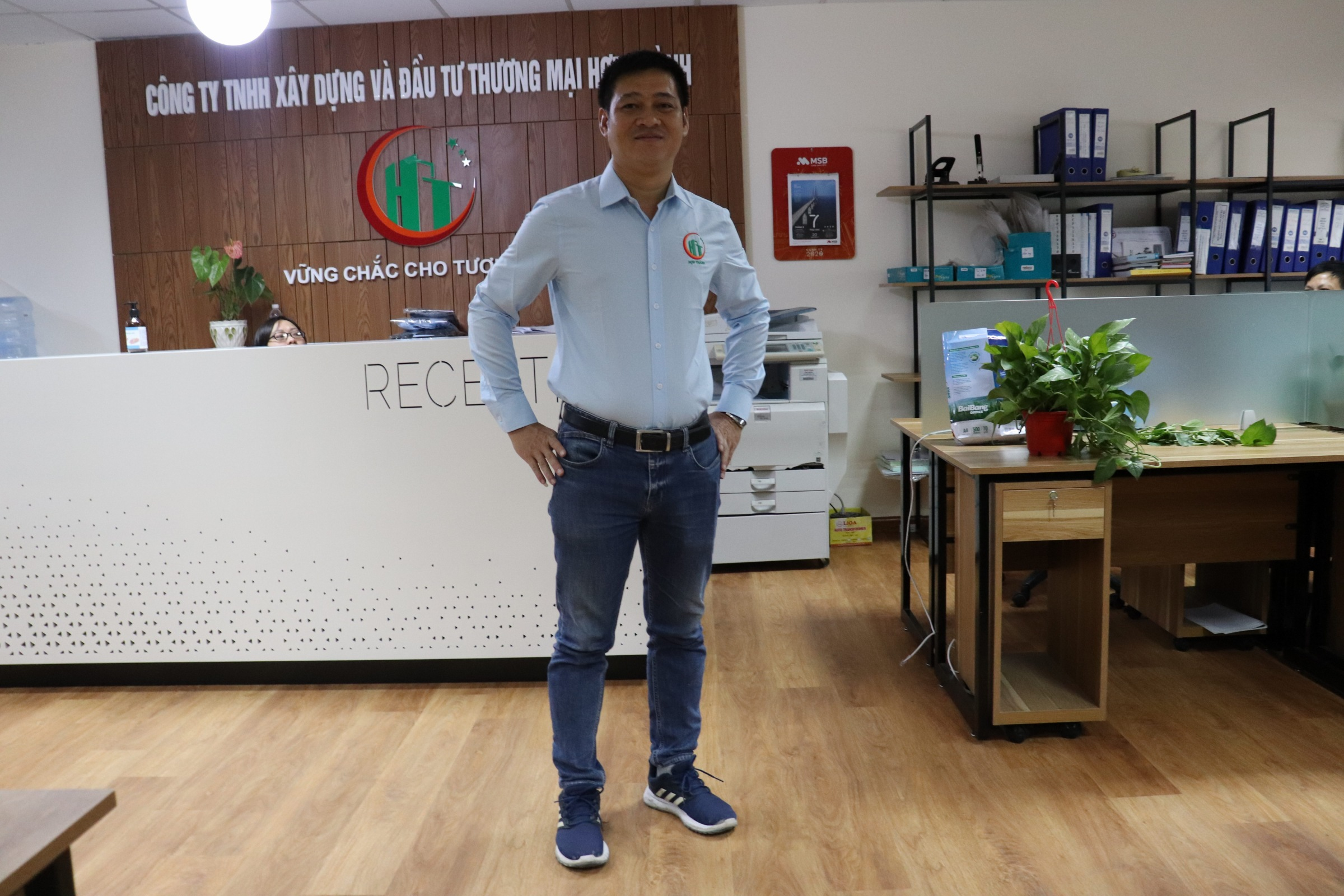 Hop Thanh officially implement the rule wearing uniform