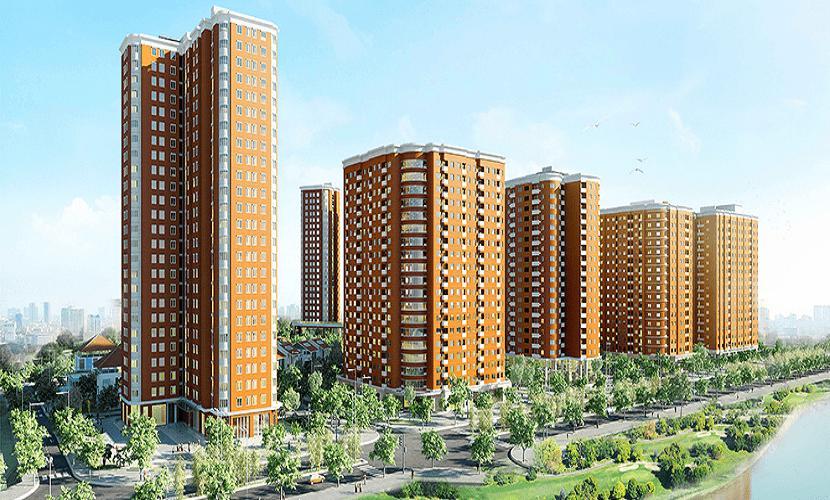 Chung cư cao tầng CT3 Nghĩa Đô