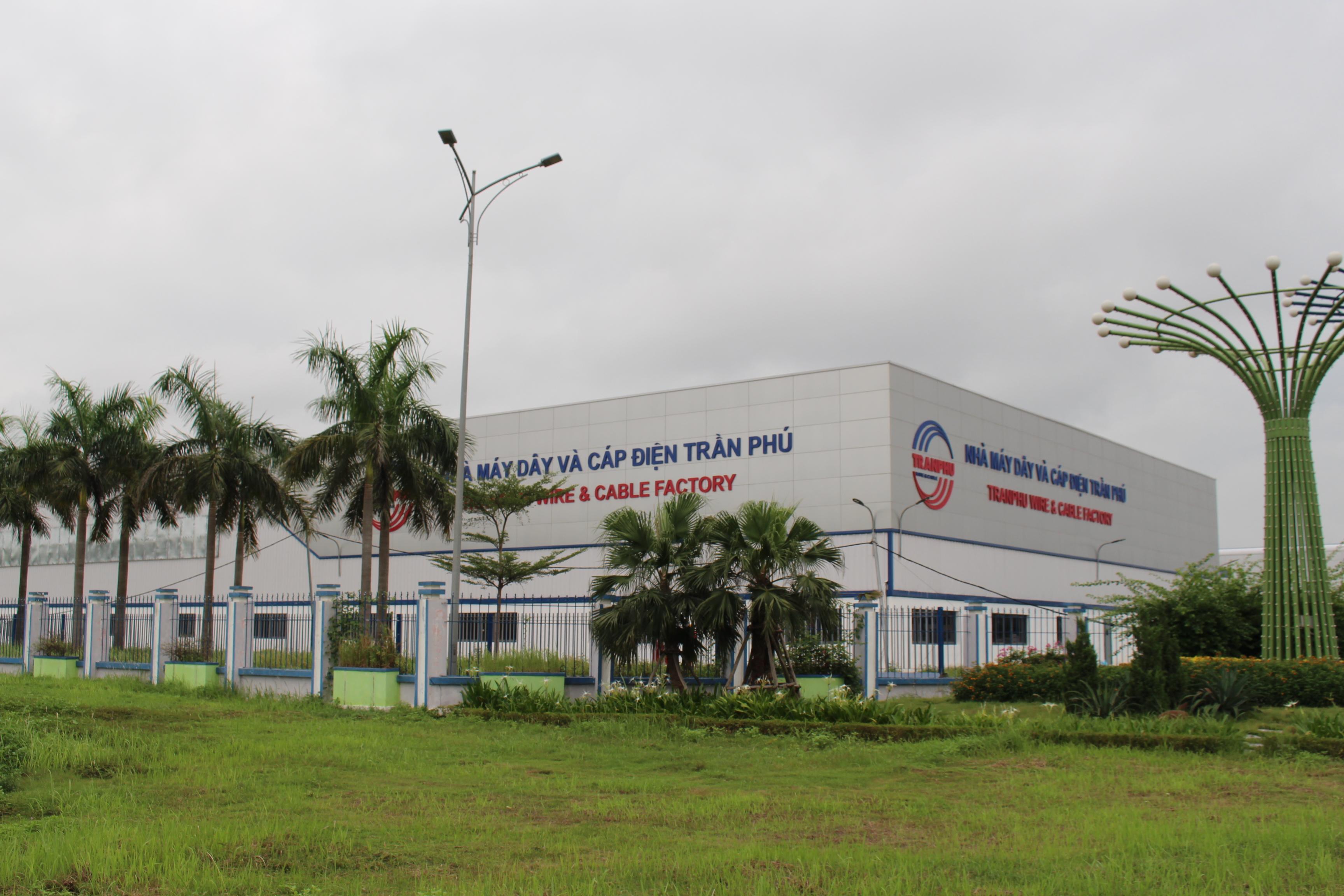 Bê tông Hợp Thành đồng hành cùng nhà máy sản xuất dây cáp điện Trần Phú Hải Dương